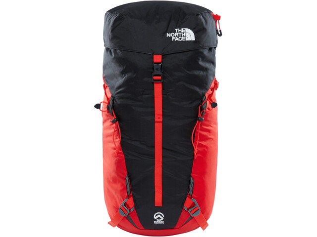 The North Face Verto Backpack fiery red/tnf black
